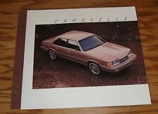 Original 1987 Plymouth Caravelle Sales Brochure 87