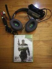 Turtle-Beach Earforce Foxtrot Call of Duty MW3 Gaming Headset Headphones w/game