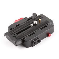 P200 Schnellspanner QR Clamp Base Plate für Manfrotto 500Ah 701 503 HDV 7M1W