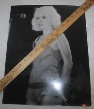 "Vtg Unpublished Debbie Harry ""Blondie"" Rock And Roll Amateur Photo Picture #2"