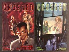 CROSSED #0 #1 Comic Books GARTH ENNIS Avatar 2008 HORROR Jacen Burrows Fine