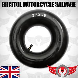 3.50-8 Inner Tube Bent Schrader Valve Wheelbarrow Sack Tyre Rubber Wheel 3.25-8
