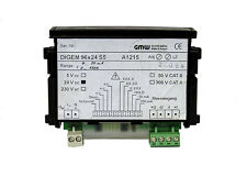 GMW Gossen digem 96x24 s5 a1215 Digital Misuratore di installazione
