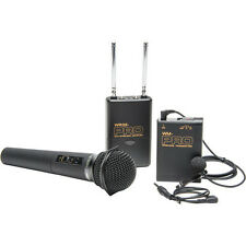 Pro WLHM DC wireless lavalier + handheld mic for Sony FX1 FX7 FX1000 HD1000U