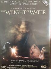 THE WEIGHT OF WATER - DVD -  Elizabeth Hurley, Sean Penn - Ex Rental Free Post!