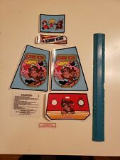 decals for electronic coleco tabletop mini arcade donkey kong dark version.