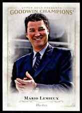 2016-17 UD Goodwin Champions Mario Lemieux #5