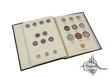 Egypt 1916-1920 Coin Album inc. 1917 Sultanate under Hussein Kamel & Fuad