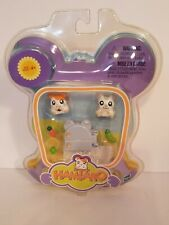 Hamtaro Oxnard Ham Ham Hamsters Playset Accessories Figures Refrigerator Food