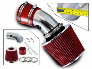 SPORT AIR INTAKE KIT + RED FILTER For 95-05 Pontiac Bonneville Buick Regal 3.8L