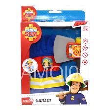 Fireman Sam Gloves & Axe Ages Boys Dress-up Costume Pretend Play 3+