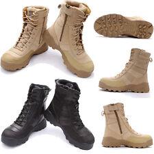 Ejército militar botas combate tácticas deporte senderismo caza zapatos mujeres