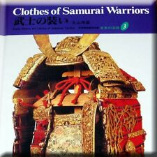 Japanese Samurai History Book - Warrior Clothing Armor Sword Tsuba Kabuto