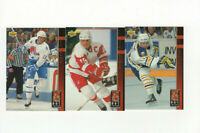 1993/94 Upper Deck Hat Tricks Complete Insert Set!! Yzerman Sundin Lafontaine
