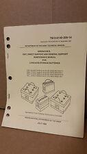 Maintenance Manual for Lead-Acid Storage Batteries TM 9-6140-200-14 NOS