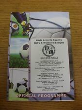 09/05/2015 Bedfordshire And Hertfordshire Womens League U13 Cup Final: AFC Kemps