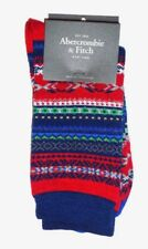 MENS ABERCROMBIE & FITCH TRIBAL SOCKS ONE SIZE