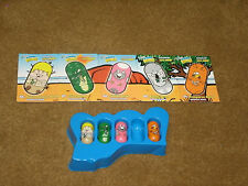'03 Moose's Mighty Beanz - Series 2 - set of 4 & 5 cards OUTBACK team