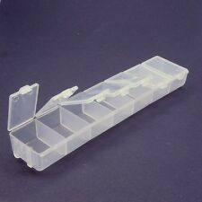 Perlenbox Tablettenbox 10 Fächer Schmuckbox Sortierbox