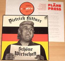 Dietrich Kittner-Bella economia piani (1975 + PROMO-supplemento/LP VG + +)