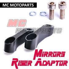 Mirrors Riser Extender Adapter Yamaha FZ6 FZ1 FAZER 8 XJR 600 Monster S4R S2R