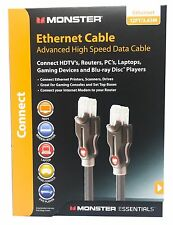 Monster Cat 6+ Ethernet 12ft - Advanced High Speed Data Patch Cable Cat 5
