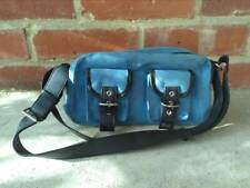 Vans Blue lady's handbag suede leather, rare, hand bag, sidebag