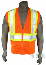 High Visibility Vest Mesh Class 2 Safety Vest With 6 Pockets Ironwear Org