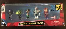 """Teen Titans Go Teen Titans Action Figure (6-Pack), 2"""" Toy - Damaged Box"""