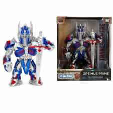 "Jada Toys 4"" Metals Transformers Diecast Action Figure 99386 Optimus Prime M407"