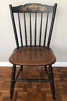 L. Hitchcock Saddle Seat Side Chair