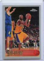 Kobe Bryant Rookie Card 1996-97 Topps Chrome Reprint #138 Los Angeles Lakers