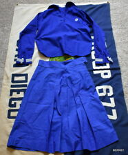 VINTAGE MARINER GIRL SCOUT UNIFORM - BLOUSE AND  SKIRT - SCARCE