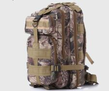 Mann Army Military Tactical Camo Realtree Backpack NEW
