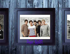 ONE DIRECTION SIGNED AUTOGRAPHED FRAMED 10X8 REPRO PHOTO PRINT Niall Liam Harry