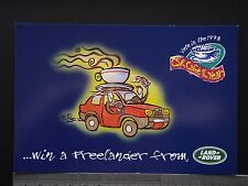 1998 CSR CAFE OF THE YEAR WIN A FREELANDER LAND ROVER AVANT CARD #2069 POSTCARD