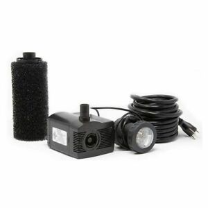 Beckett LV450T  Pond Pump with Pre-Filter and LED Light Kit