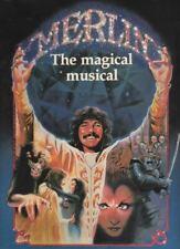 """Merlin""   Souvenir  Program 1983   Doug Henning, Christian Slater, Chita Rivera"