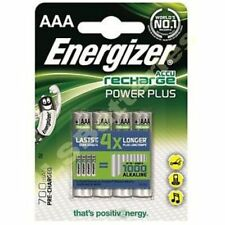 4 x AAA ENERGIZER 700 mAH POWER PLUS Pilas Recargables ACCU 700