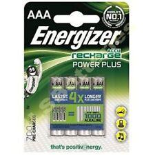 4 Pilas Energizer Aaa 700 Mah Power Plus Recargable baterías ACCU 700