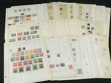 Large Latin Minkus/Scott Pages Stamp Collection Lot Honduras Guatemala Colombia+