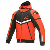 Alpinestars Rio Hondo Evo Fleece Motorcycle Motorbike Textile Jacket Red / Black