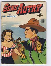 Gene Autry Comics F.C. #75 Dell 1945