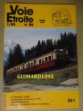 Voie étroite n°86 février 1985
