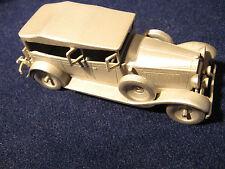 Modell AutoPackard 640-1929 aus Zinn.Danbury Mint 1/60.Zinnmodell USA Pewter