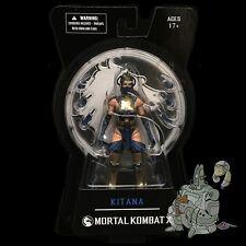 Mortal Kombat X KITANA Series 2 ACTION FIGURE Mezco IN STOCK NOW!