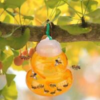 Reusable Wasp Trap 6 Tunnel Insect Hornets Bees Killer Yellow Jackets Catcher UK