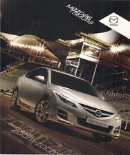 Mazda 6 Tamura 2.0 5-dr Limited Edition 2009 UK Market Sales Brochure
