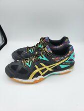 Asics Gel-Tactic Kerri Walsh Jennings Volleyball Shoes Women's 8 Black & Gold