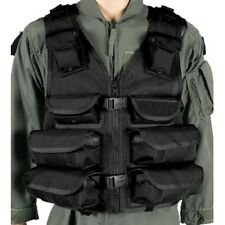 New! Blackhawk Omega Elite Adjustable Nylon Medic/Utility Vest Black 30EV08BK